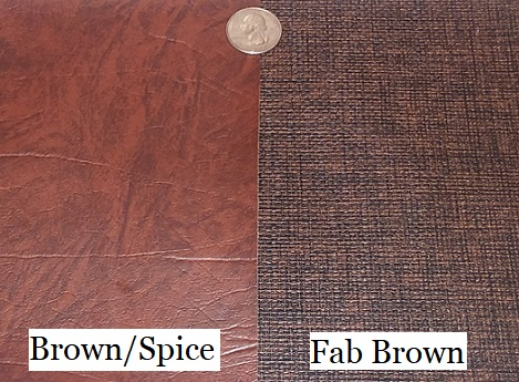 Fab Brown - brown with rich woven fabric look and texture