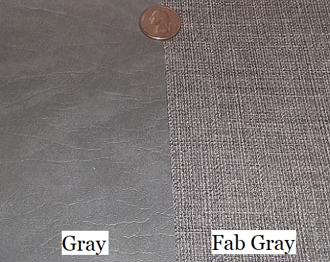 Fab Gray - gray with rich woven fabric look and texture